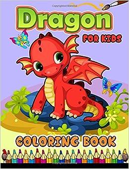 Amazon Dragon Coloring Book For Kids 9781546810162 Jupiter Books