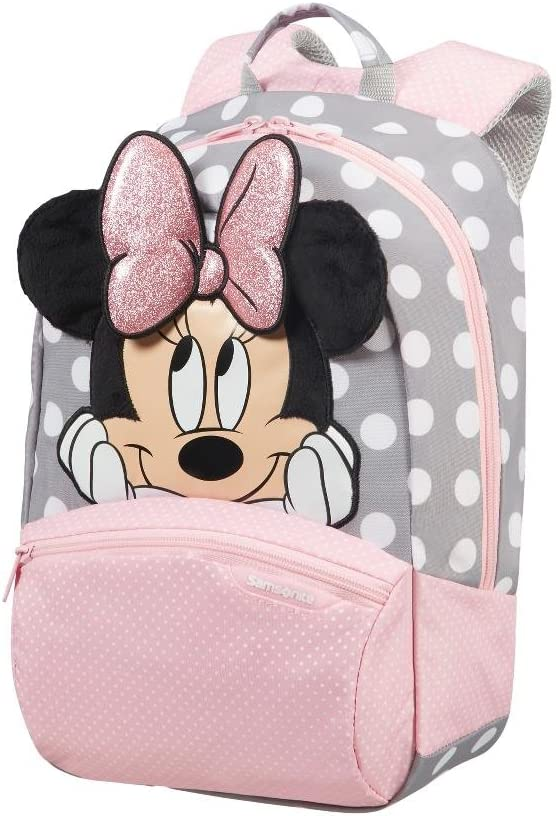 Samsonite Disney Ultimate 2.0 Mochila 35 cm, 12 L, Multicolor (Minnie Glitter)