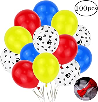 Amazon.com: Holicolor - 100 globos de látex coloridos con ...