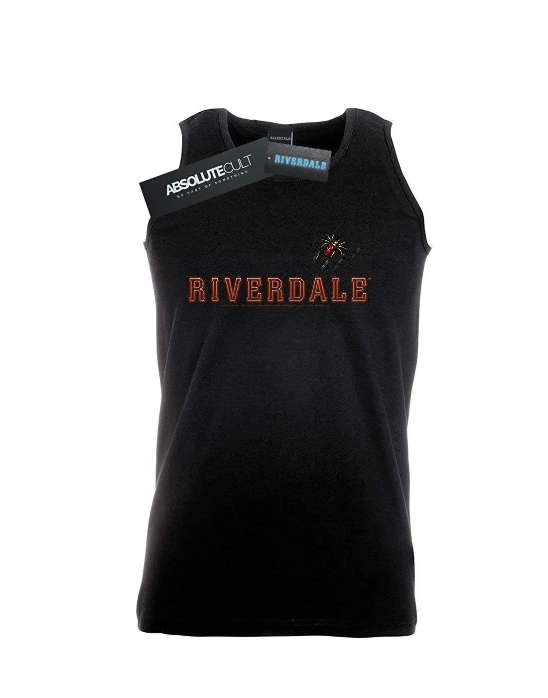 Absolute Cult Riverdale Mens Spider Brooch Tank Top