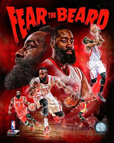 James Harden Houston Rockets NBA合成写真 16