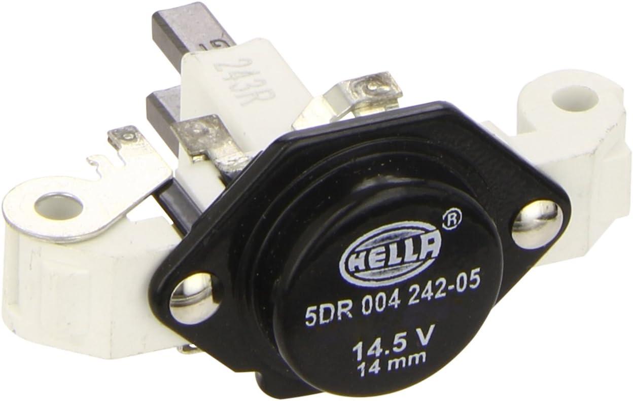 HELLA 5DR 004 242-051 Regulador del alternador, Tensión nominal: 12V