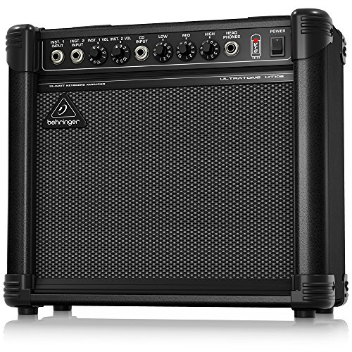 (Behringer Ultratone KT108 Ultra-Compact 15-Watt Keyboard Amplifier)