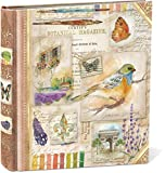 Punch Studio Nature's Sketchbook Decorative Photo Album