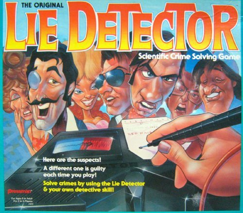 The Original Lie Detector Scientific Crime Solving Game