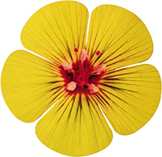 product image for Next Innovations Yellow 5 Petal Flower Wall Art
