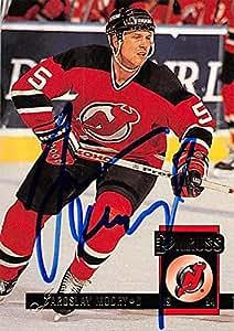 Jaroslav Modry autographed Hockey Card (New Jersey Devils