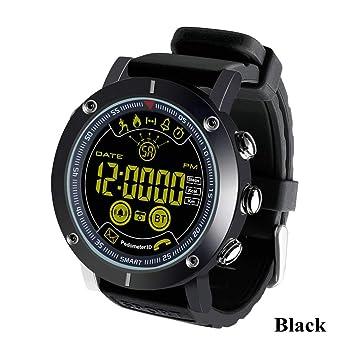SDSFMF Reloj Inteligente Smart Watch Swim Waterproof Call SMS ...