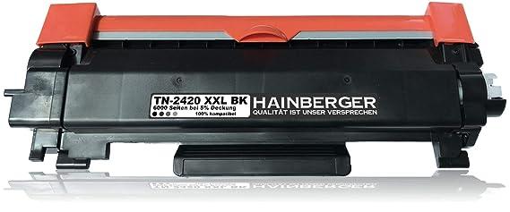 Hainberger – Tóner TN de 2420 XXL 100% más de capacidad con chip ...