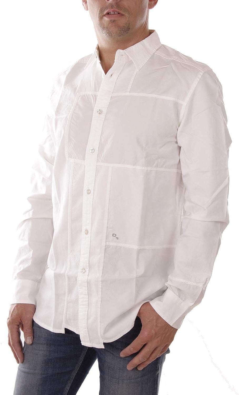 Diesel S-Filty Camisa Hombre (S, Blanco): Amazon.es: Ropa y accesorios