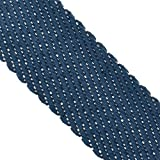 Tumaz Yoga Mat Carrier Sling, Carrying Strap of Poly Cotton - Thick, Durable, and Comfy, Also for Stretching (64 and 85 inch, Many Lovely Colors) (MAT NOT Included)