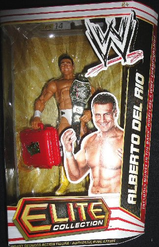 Mattel WWE Wrestling Elite Collection Series 14 Action Figure Alberto Del Rio by Mattel Toys