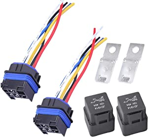 Power Trim Tilt Relay for Mercury Outboard Motor Replaces for 882751A1, 3854138, 73040, 828151,828151A1, 882751A2(Pack of 2)