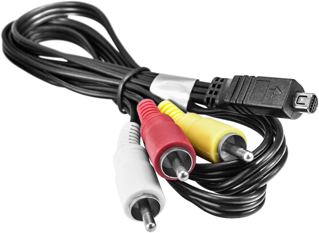 Kj Vertrieb Cinch Av Kabel Kompatibel Mit Sony Vmc 15fs Elektronik