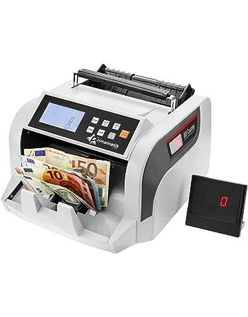 PrimeMatik - Contador y totalizador del Valor de los Billetes con Detector de Billetes Falsos IR