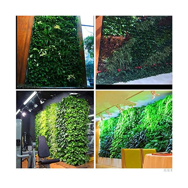 Starry sky Wall Hanging Piantare Borse 18/36/49/72 Tasche Green Grow Bag Planter Verticale Orto Living Garden Bag Fiori… 7 spesavip
