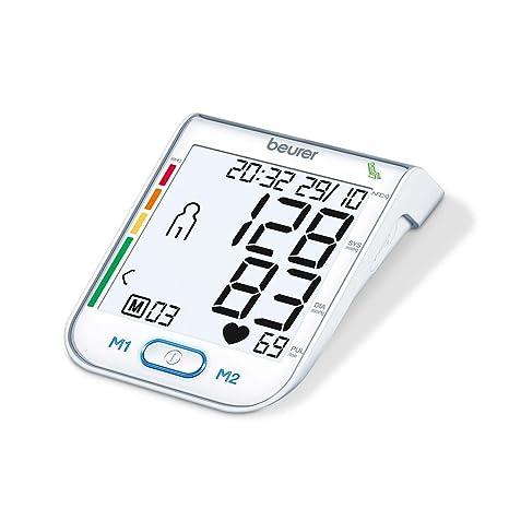 Tensiómetro de brazo BM 75 de Beurer, NFC para Smartphone, USB, vollautomatisch: Amazon.es: Salud y cuidado personal