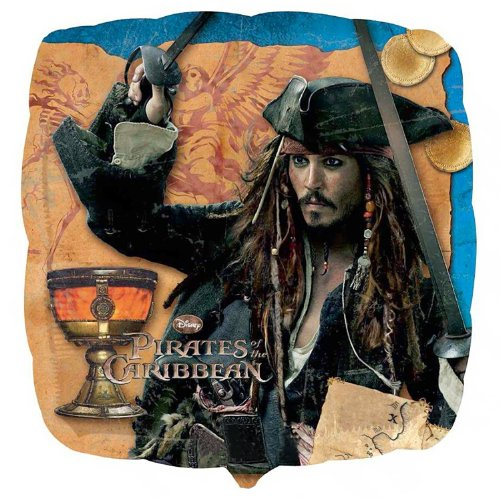 Pirates of the Caribbean 4 - Foil Balloon Party Accessory]()