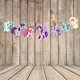 Generic Party Propz My Little Pony Character Bunting - 8Ft For Decoration