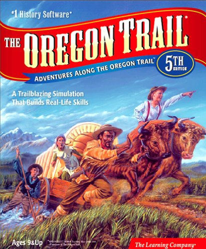 Software : The Oregon Trail: Adventures along the Oregon Trail, 5th Edition