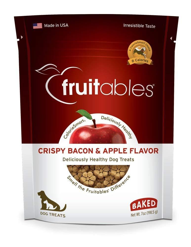 Fruitables Crispy Bacon And Apple Crunchy Dog Treats, 1-7-Ounce Pouch (Limited Edition)