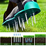 Ohuhu Lawn Aerator Shoes with Hook & Loop
