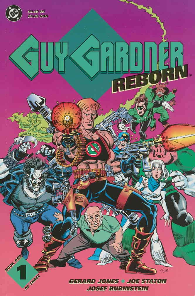 Guy Gardner Reborn #1 VF/NM ; DC comic book