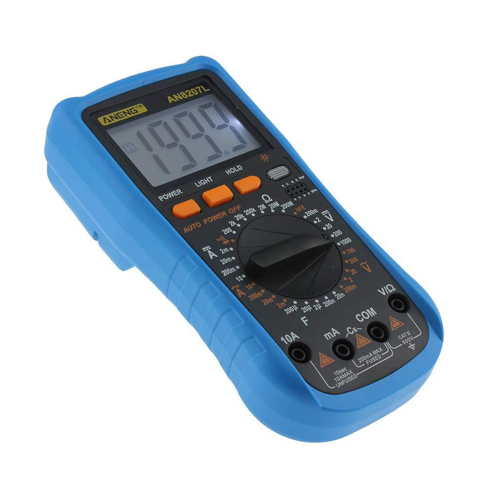 GorNorriss Electronics Gadgets ANENG8207L Digital Voltmeter Ammeter Ohmmeter Multimeter Volt AC DC Tester Meter