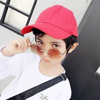 Wang-RX Moda sin montura Gafas de sol para niños Pierna de ...