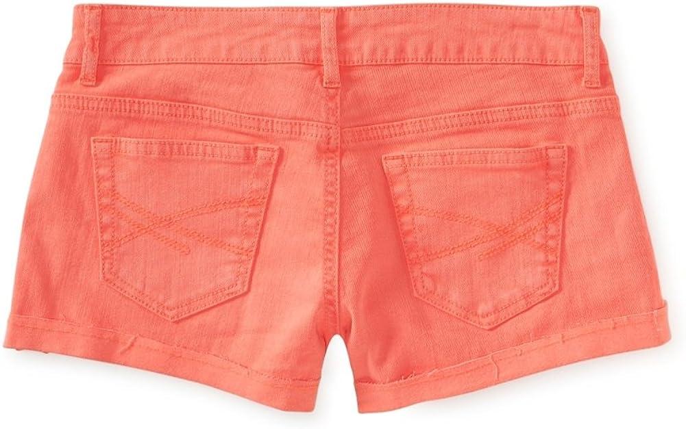 Aeropostale Womens Cut Off Shorty Casual Denim Shorts