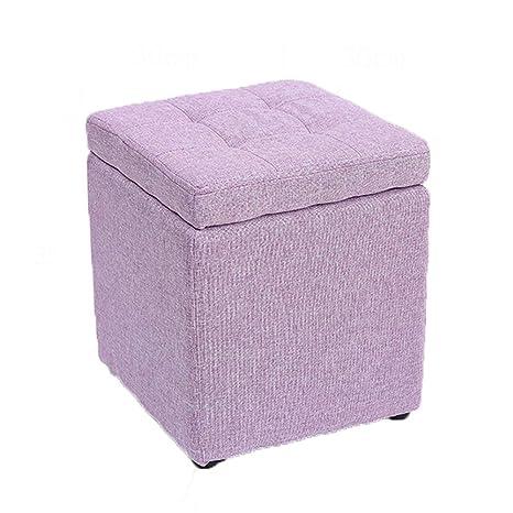 Magnificent Amazon Com Huoxu Storage Ottoman Foot Stool Comfortable Creativecarmelina Interior Chair Design Creativecarmelinacom