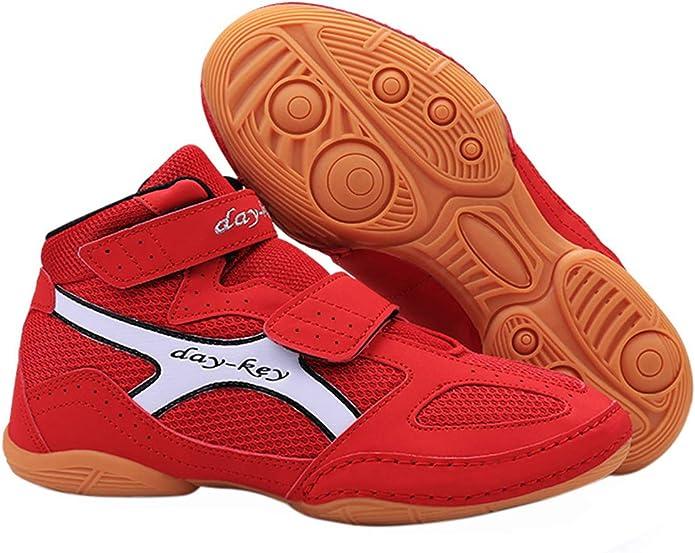 Zapatos de Boxeo Transpirable de Lucha Libre