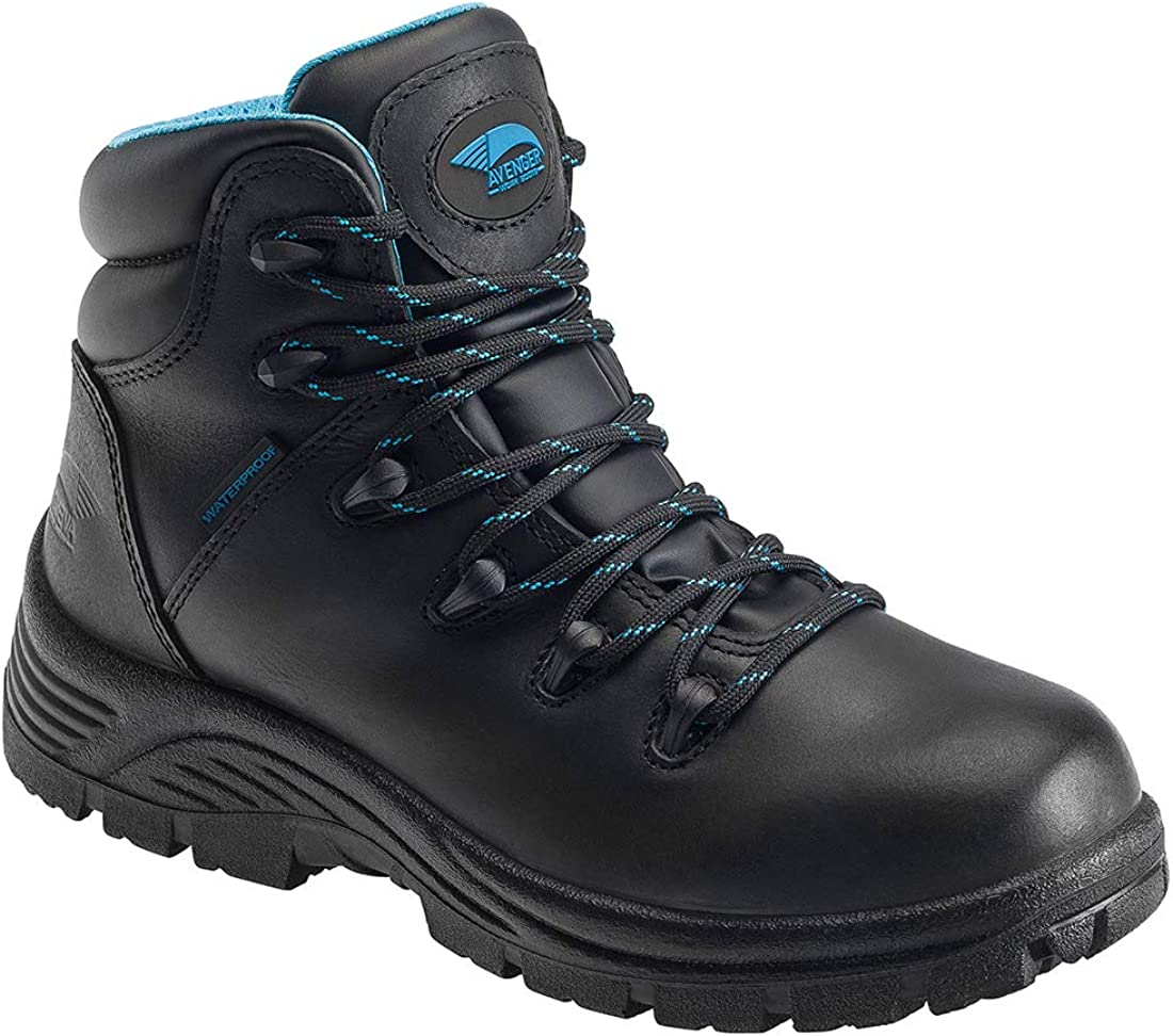 FSI Avenger Women's Leather Waterproof Soft Toe EH Work Boots