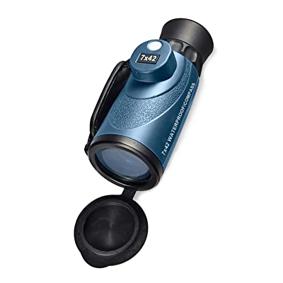 BARSKA 7x42 Deep Sea Monocular with Compass: Sports & Outdoors