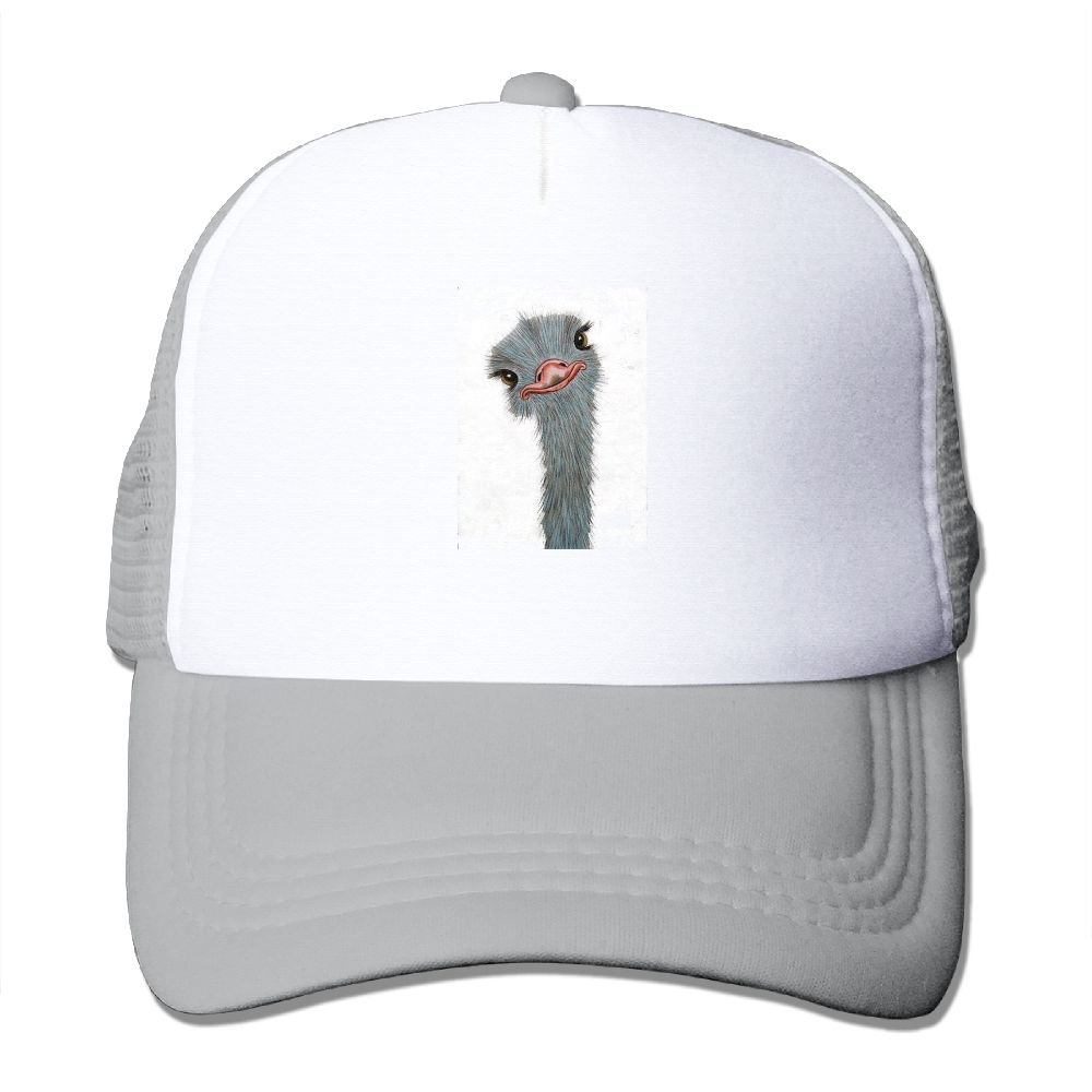 Ostrich Animal Classic Baseball Caps For Men Durability Great For Activities Hiking Fitted Hats
