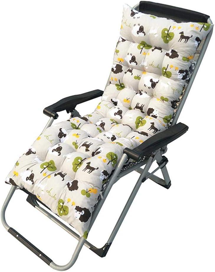 Comodo Sedile Imbottito per Il Riposo Cuscino per Sedia Ganmaov Cuscino per Lettino da Giardino Cuscino da Relax per Lettino da Esterno Impermeabile per Lettino reclinabile da Esterno