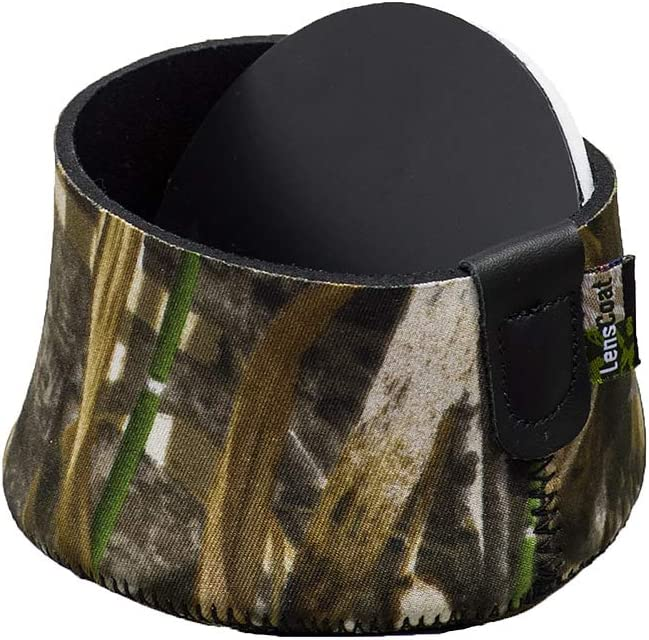 LensCoat Neoprene Camera Lens Cap Cover Protection Camouflage Hoodie X Large lchxlm5 Realtree Max5