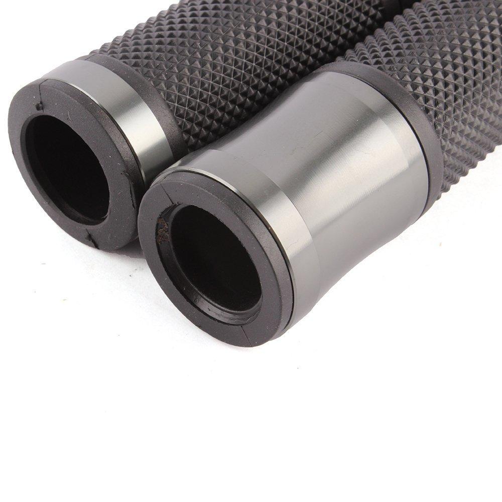 Durchmesser 22/mm Manschette der Griff des Lenker des Kraftrad der Aluminiumlegierung-1/Paar f/ür allgemeinen Gebrauch Titanium color