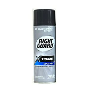 Right Guard Xtreme Cooling Antiperspirant Deodorant Aerosol Spray, 6 Oz (Pack Of 3)