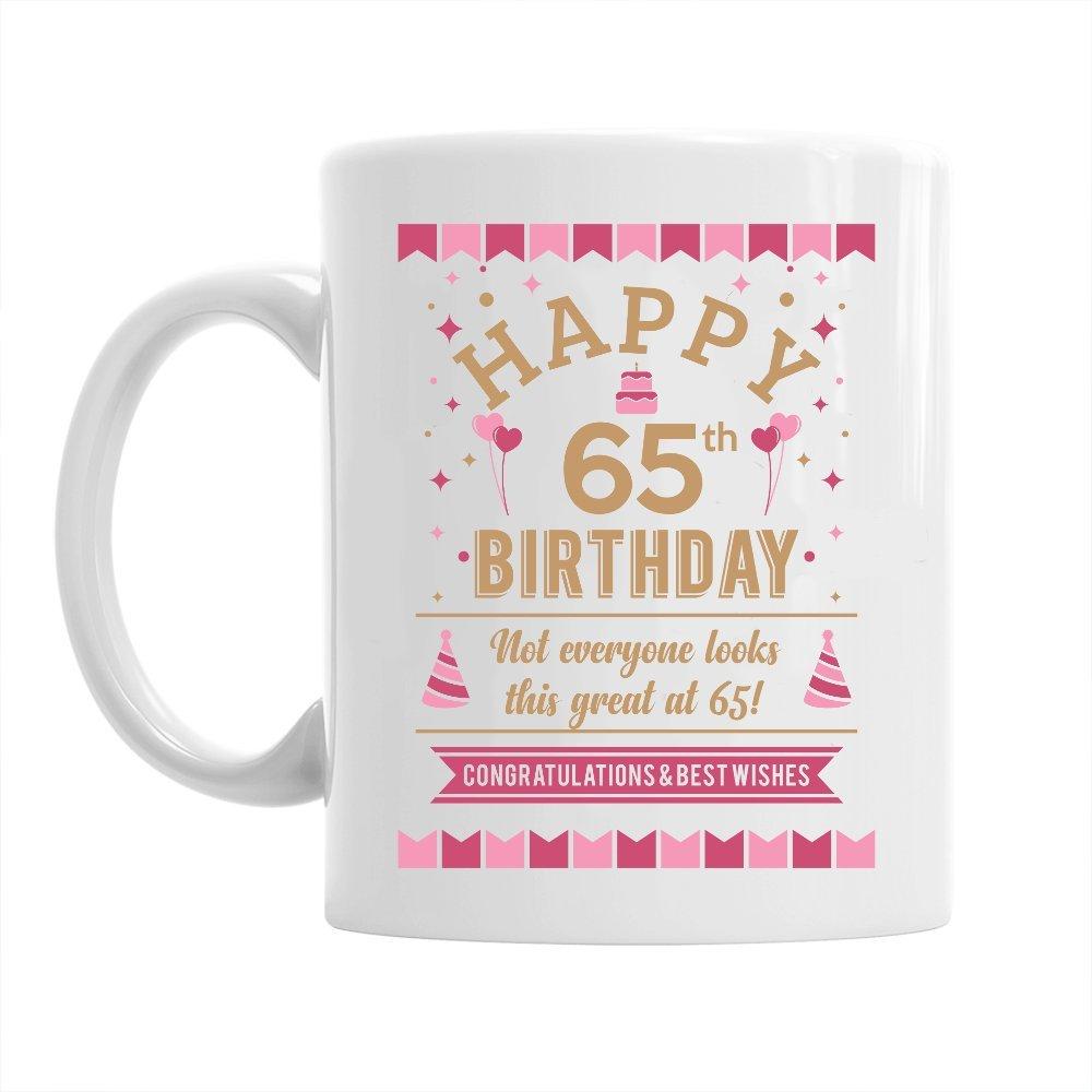 Amazon 65th Birthday Gift Gifts For Men Women 1952 Square Root Mug
