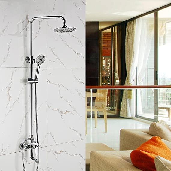 saejj-rubinetto ducha Grupo bañera, grifo de cobre, duchas baño ducha, juego de ducha, ducha de mano multifunción ducha alcachofa: Amazon.es: Hogar