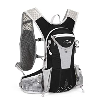 d00b1a35910a IBTXO Hydration Pack Backpack 12L Outdoors Marathoner Running Race  Hydration Vest with Water Bladder for Hiking Skiing Running Cycling Camping  Fits ...