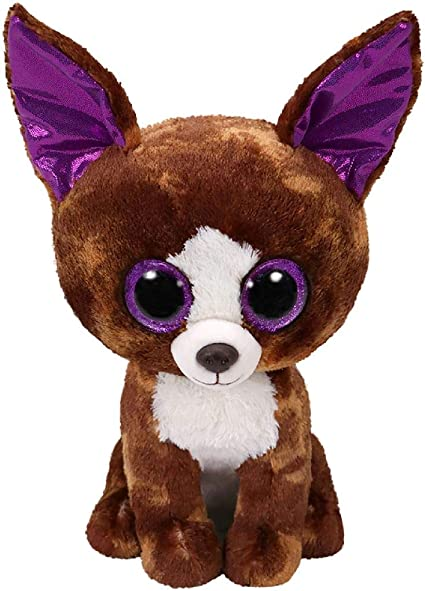 Ty Beanie Boo/'s  Dexter The chihuahua 6/'/'  Stuffed Plush Animals