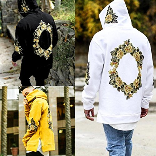 Mens Shirt,Haoricu 2017 Clearance Men's Fashion Printed Pullover Hoodies Slim Fit Sweatshirt Teens Tops With Pockets
