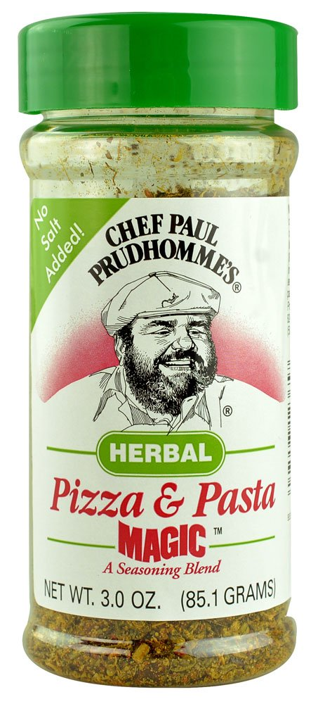 Chef Paul Prudhomme's Magic Seasoning Blends Pizza & Pasta Herbal -- 3 oz (Pack of 2)