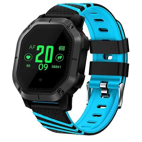 Cebbay Reloj Inteligente Impermeable Deporte Fitness Correr Rastreador de frecuencia Cardiaca Reloj led Reloj electronico