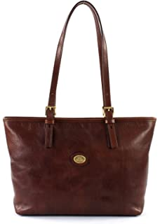 f95a4f2290 Borsa The Bridge shopper manici lunghi Story Donna 04097601 cuoio ...