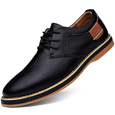British Mens  Formal Business Lace Up Dress Stylish Breathable Flats New Shoes