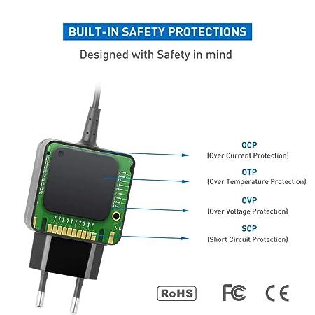KFD Adaptador 6V 2A Cargador Universal para Omron M2 M3 M6 M10-IT Tensiómetro monitor, Motorola MBP28 Baby Monitor, Sony XDR-S55 XDR-S10 6 Tipos 5.5x2.5 ...