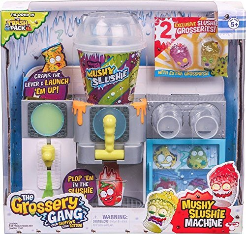 The Grossery Gang Season 1 Mushy Slushie Machine Playset by Moose Toys